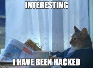 Cat hacked