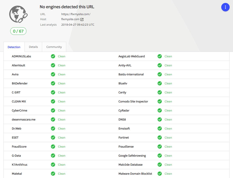 VirusTotal - Blacklist Check
